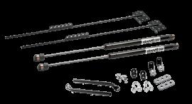 Jeep Wrangler YJ/TJ HoodLift & Tailgate Strut Combo Kit