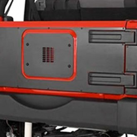 Jeep JK/JKU Inner Tailgate Cover for Warrior LED 3rd Brake Light