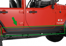 Jeep JKU Sideplates (4 Door)