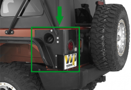 Jeep JKU Rear LED Corners